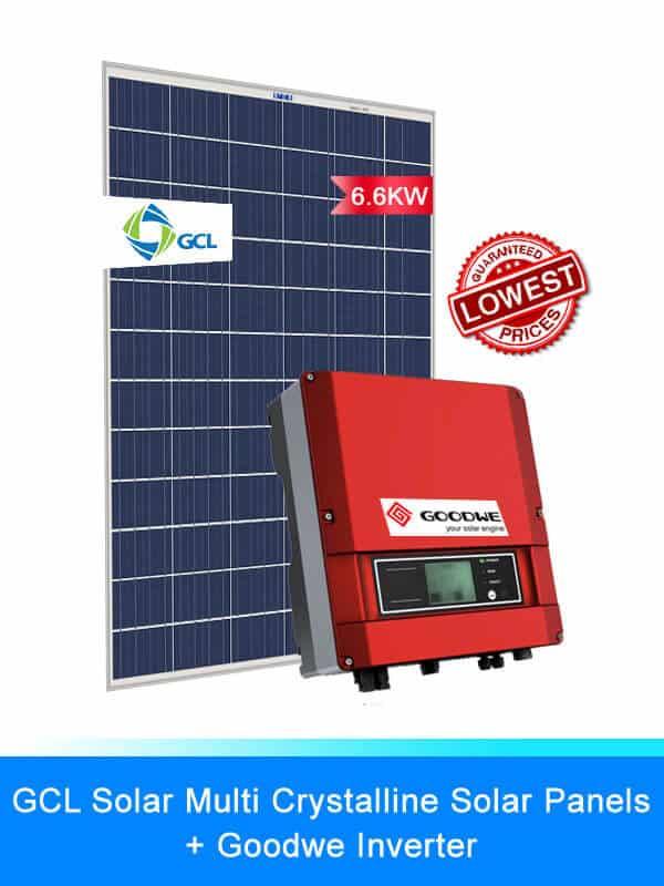 GCL Solar Panel | GOODWE Solar Inverters | Solar Battery