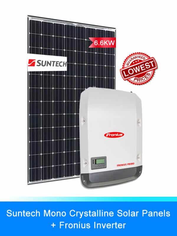 Suntech Solar Panel | Fronius Solar Inverters | Solar System