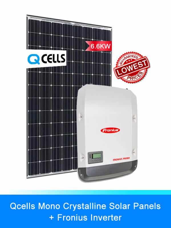 Qcells Solar Panel | Fronius Solar Inverters | Solar System