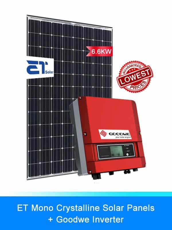 3-ET Solar | Goodwe | Solar System