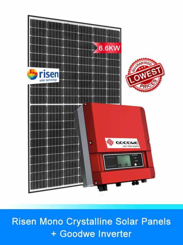 Risen Solar Panel | GOODWE Solar battery