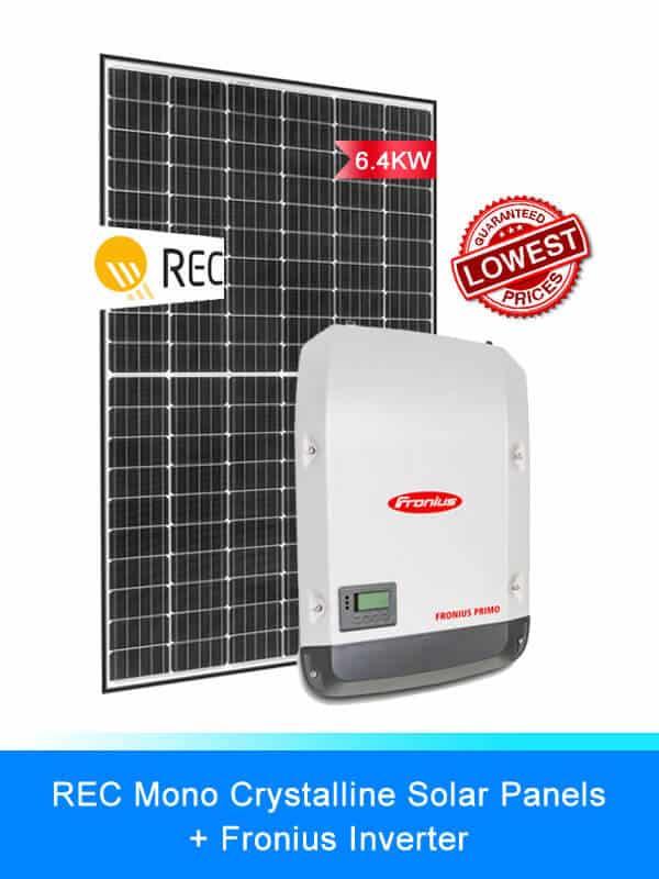 REC Solar Panel | Fronius Solar Inverter | Solar System