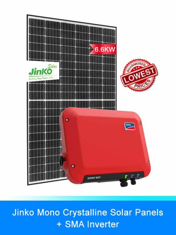 Jinko Solar Panel | SMA Inverters | Solar System